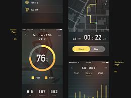 Running UI+动效练习
