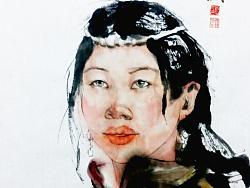 中国画写意人物