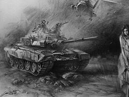 坦克兵遇上美女