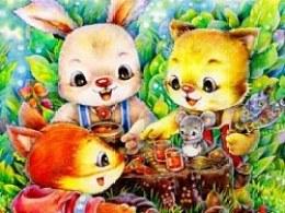 小猫乐乐之秋日烧烤