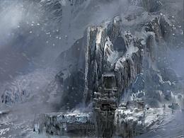 CG片头概念-雪山