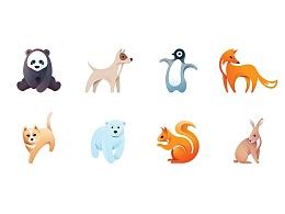 10款动物小插画