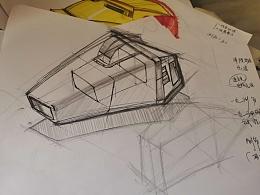 吸尘器线稿结构练习