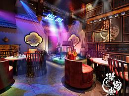 西北五省第一家新中式酒吧《澜宫雀》