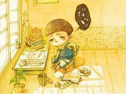 【童画世界 by 雪娃娃】画不出来不如出去玩吧~