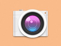 拟物化相机图标
