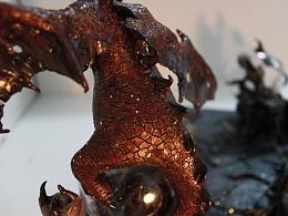 暗|黑-泥塑作品