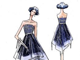 服装设计稿