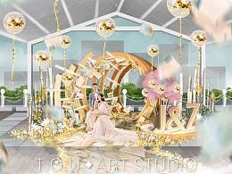 婚礼设计(露台仪式)