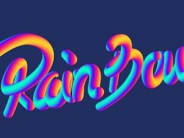 渐变色字体练习