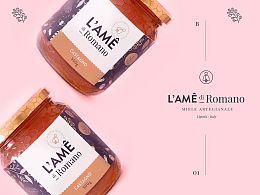 成都摩品广告公司-L'Ame Honey包装设计欣赏