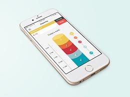 项目报表app界面