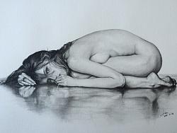 人体素描练习