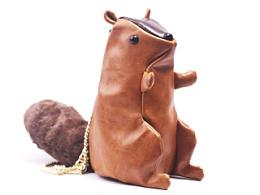 松鼠单肩小包设计制作