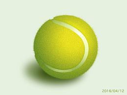 张小碗儿拟物图标(网球篇)--练习