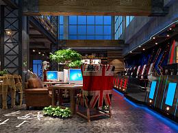 四个网咖空间设计案例