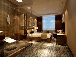 山东潍坊某宾馆装饰设计