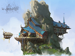 洛克猴(杜震)建筑设计《青瑶山》