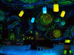 星辰大海|黑暗餐厅|场景模型