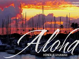 感受温热的风 - 夏威夷小游记...