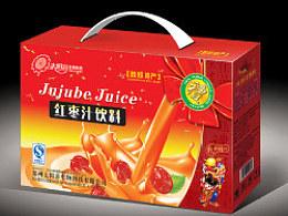 红枣汁饮料礼盒包装设计