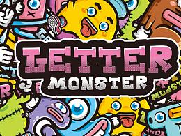 letter monster 字母怪兽(上半部分)
