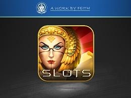 一个埃及风格的Slots图标绘制(带过程)