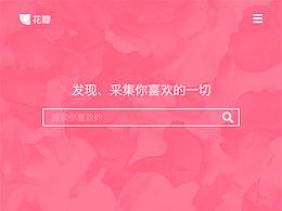 花瓣App  概念稿