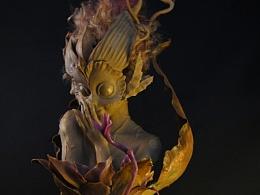 小妖精Kaly-半身雕像
