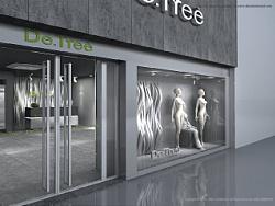 主振品牌案例:南京地树女装女装空间专卖店设计