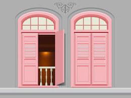 窗——色彩搭配的练习作