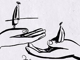 吉祥物语的插画日记(二十五)2015年4月天天插画集