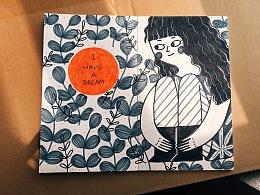 2017年3月-4月喜丫的手绘涂鸦整理