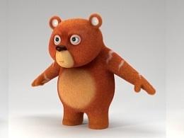 我们的原创角色乎乎熊