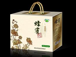 蜂蜜包装_食品包装设计_艺鼎鹏