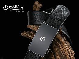 【乐道品牌设计】金利来2017男包商务包男士皮带男士背包单肩包整店设计