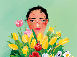 致抗疫医护:我想为你送上一束春天的花