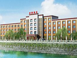 红原酒店设计_成都酒店装修设计_藏文化主题酒店设计