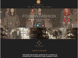 时尚网页设计