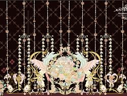 花镜爱丽丝样布打版