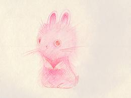 素描、彩铅