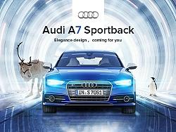 奥迪A7 sportback —因你而来