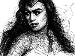 AMU- SKETCH OF WONDER WOMEN
