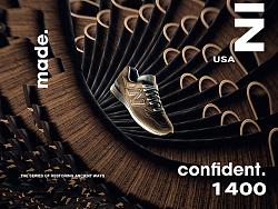NewBalance美产1400跑鞋广告海报拍摄制作 Desgined by 武减武文化创意