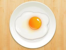 写实鸡蛋一枚