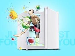 奥马小冰箱描述