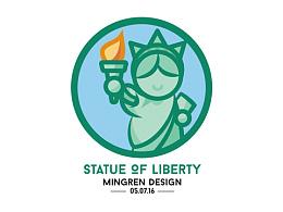 Day2- 每日設計 Statue of Liberty Design