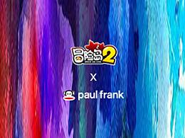 冒险造型师 - 冒险岛2&Paul Frank联名款服装图案设