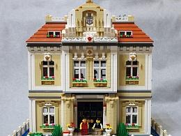 【GS的MOC】LEGO欧式别墅