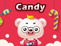 熊博士卡通形象:Candy